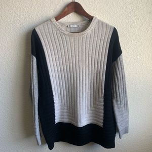 Vince Intarsia Cashmere & Wool Sweater